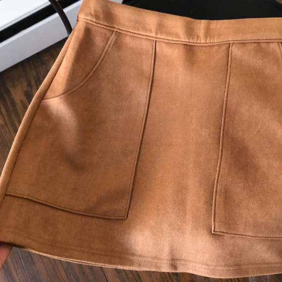 e7a0ad6bd0 Honey Punch Skirts | Suede Skirt W Pockets | Poshmark